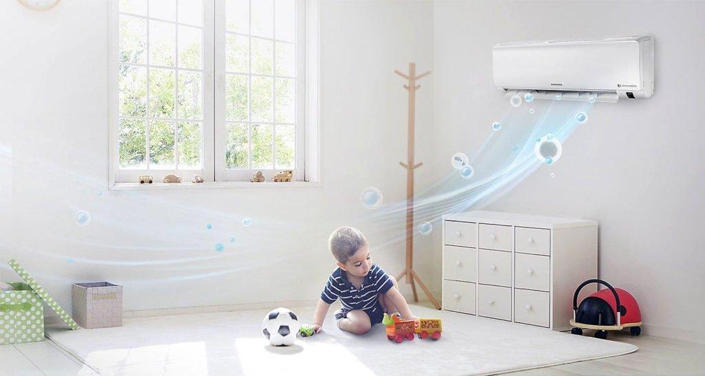 Как выбрать сплит систему в детскую комнату?